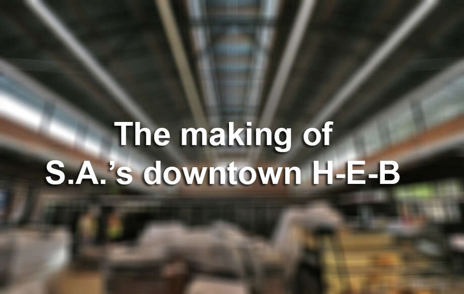 Here's an inside look at the new downtown San Antonio H-E-B, which will open at César Chávez and South Flores Street on December 2. Photo: Kin Man Hui, File / ©2015 San Antonio Express-News