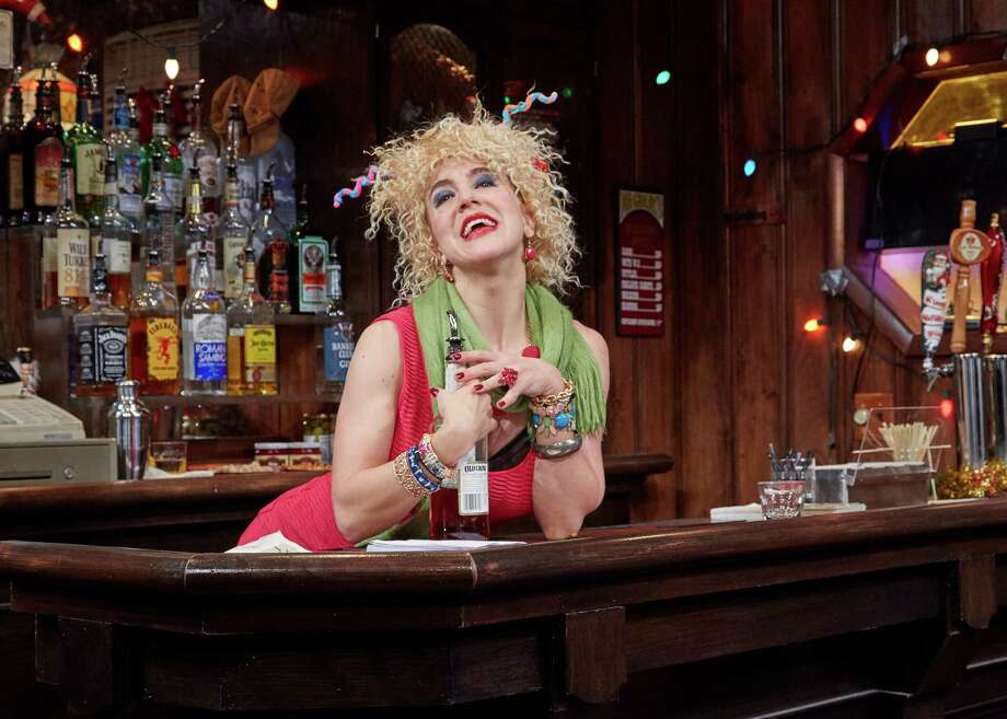 """""""Christmas on the Rocks"""" at TheaterWorks Hartford, is """"an off-beat collection of twisted holiday tales"""" set in a bar on Christmas Eve. It runs through Dec. 23. Photo: Lanny Nagler / Contributed Photo"""