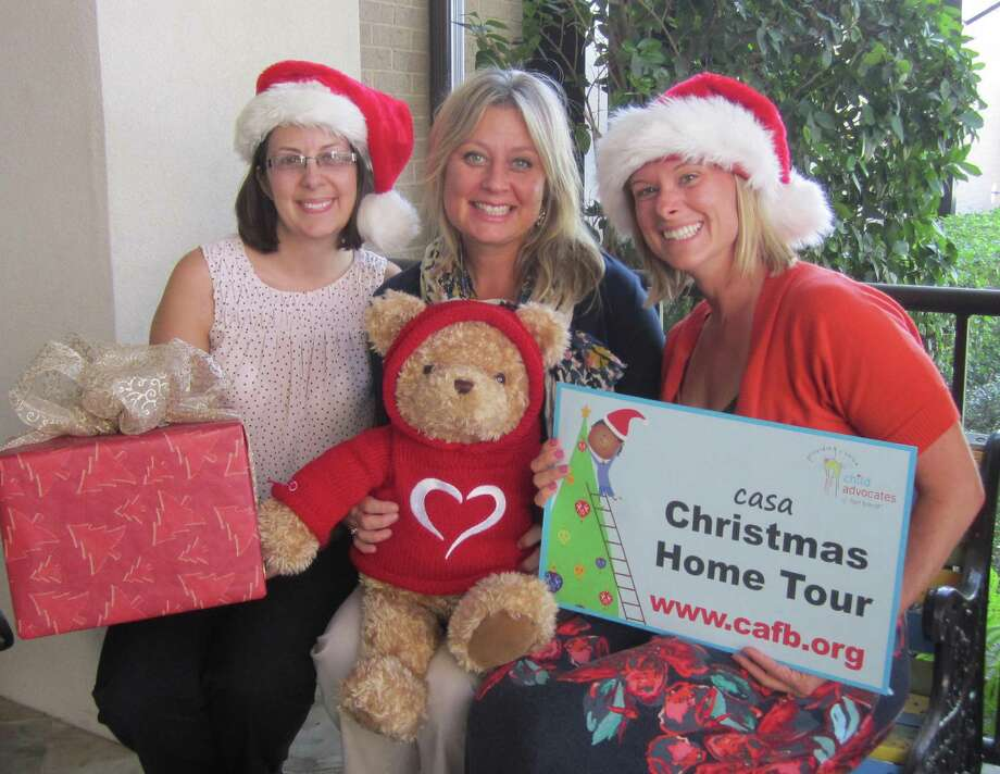 Gearing up for the 2015 casa Christmas Home tour Dec. 11-12  are: Dana Clement, left, Child Advocates of Fort Bend events specialist Lisa Moore and Ginny McCord. Underwriter for the 2015 Christmas Home Tour is Fred and Mabel R. Parks Foundation. To become a sponsor or for tickets or more information contact Lisa Moore at lmoore@cafb.org or 281-344-5108 or go to www.cafb.org. Photo: Fort Bend Child Advocates