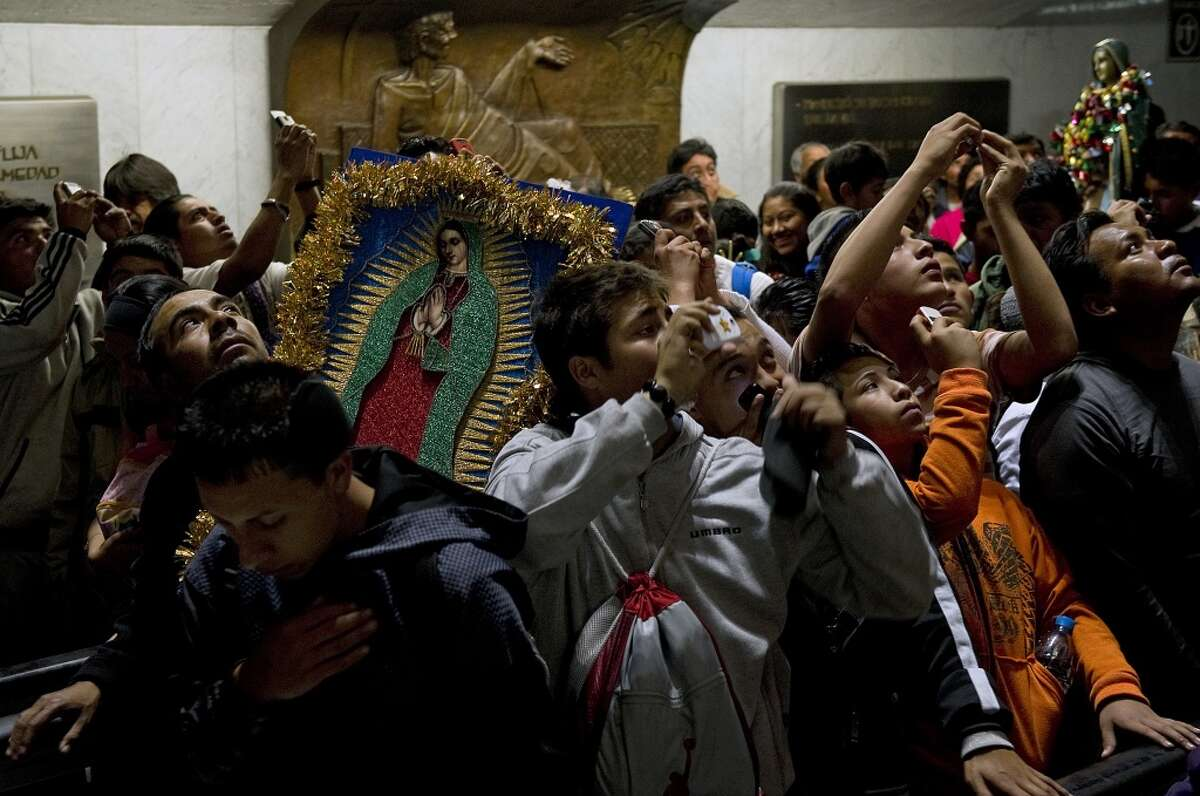 49. Mexicans make a pilgrimage every year during the annual celebration held at the Basilica of Guadalupe in Mexico City.