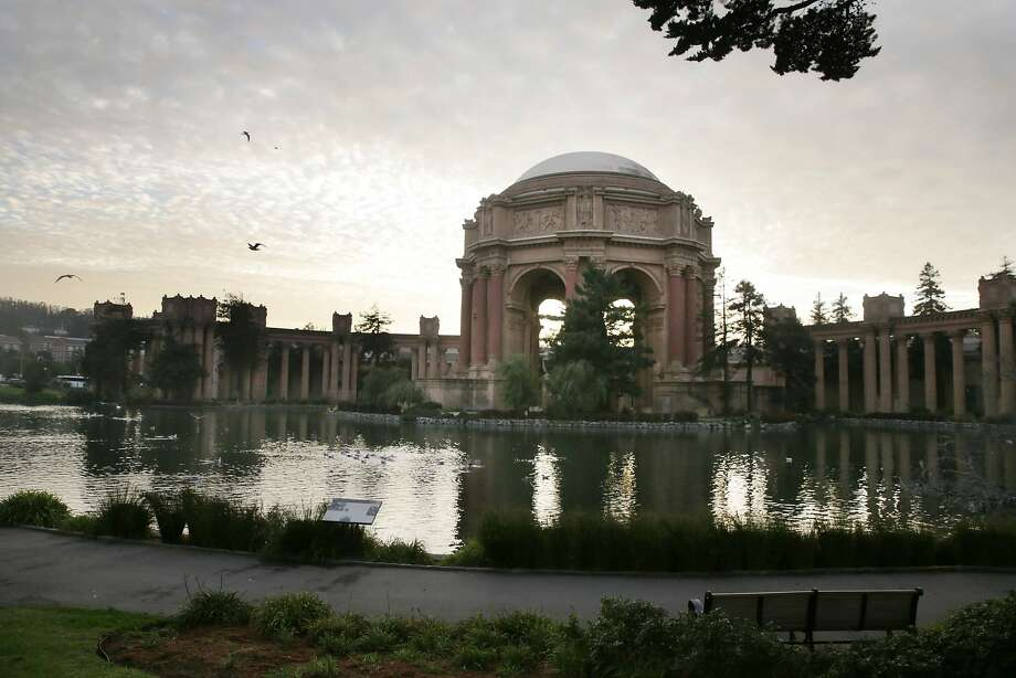 The Palace of Fine Arts is seen on Wednesday, December 2,  2015.  Photo: Lea Suzuki, The Chronicle