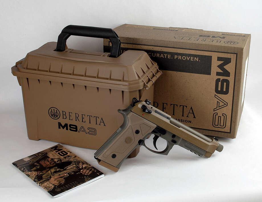 Beretta M9A3 promotional image Photo: File/Beretta USA / Copyright: Beretta U.S.A. Corp.