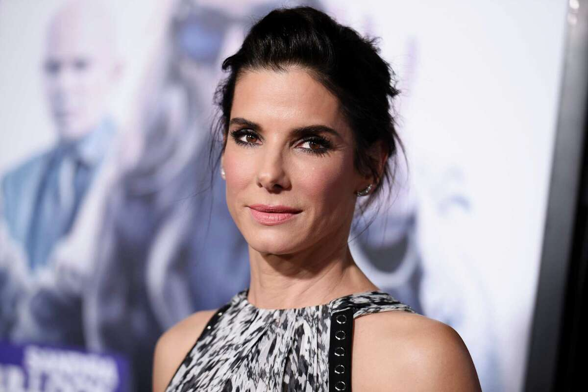 Actress Sandra Bullock is often spotted around Austin. She owns the trendy flower shop/bakery Walton's Fancy and Staple.
