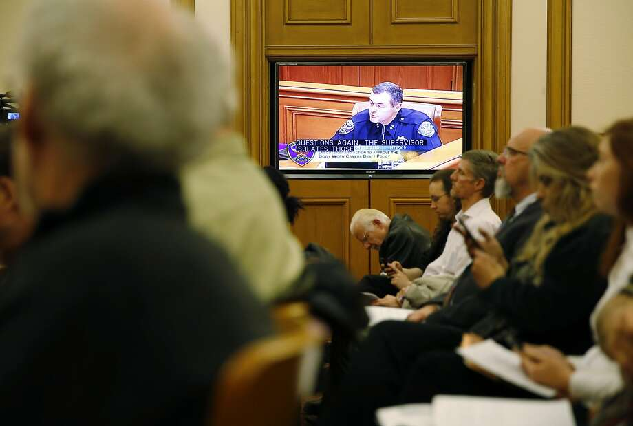 San Francisco Police Department Deputy Chief Hector Sainez speaks during a meeting of the San Francisco Police Commission at City Hall in San Francisco, California, on Wednesday, Dec. 2, 2015. Photo: Connor Radnovich, The Chronicle