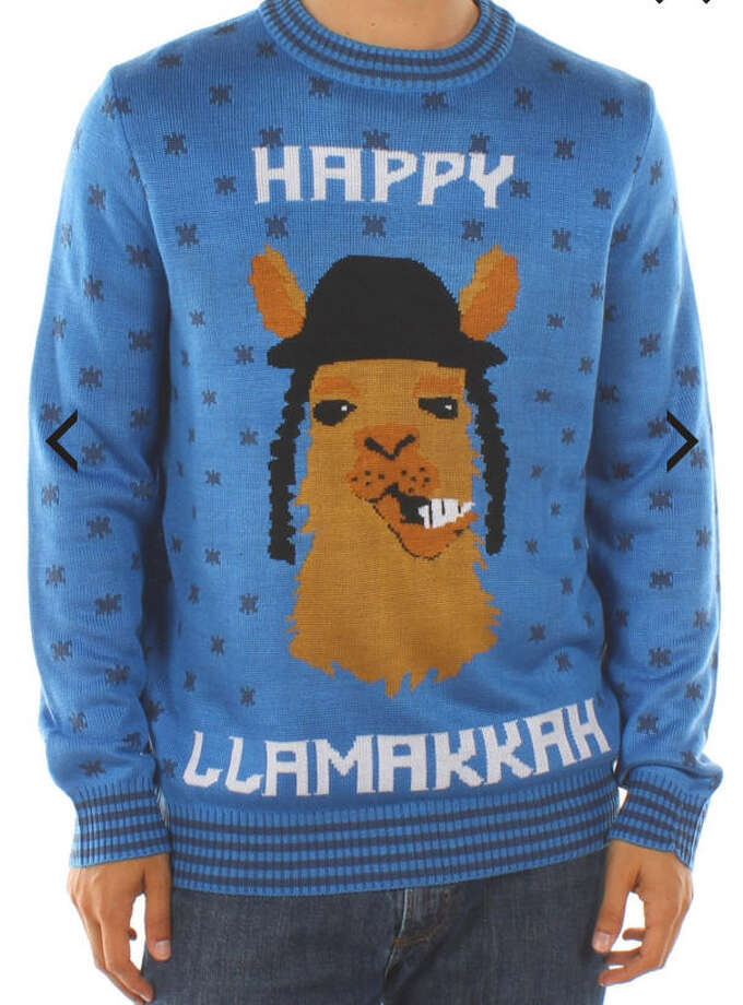 You can get this Hanukkah sweater here. Photo: Amazon.com,  Etsy