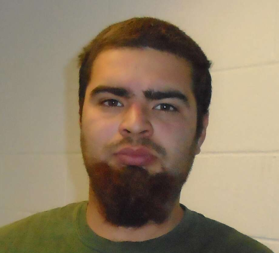 Alexander Villareal, 23, of Roxbury, is facing felony charges because of a Facebook post. Photo: Contributed / Connecticut State Police