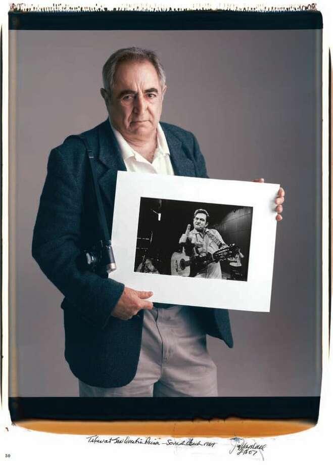 "Jim Marshall (1936 - 2010)""Never touch my girl, my gun, or my camera."" Photo: Courtesy Tim Mantoani"