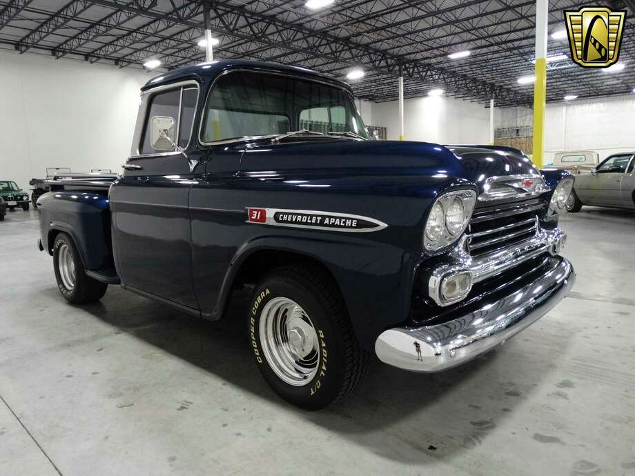 1959 Chevrolet Apache Fleetside$39,995Houston ShowroomSource: Gateway Classic Cars Photo: Gateway Classic Cars