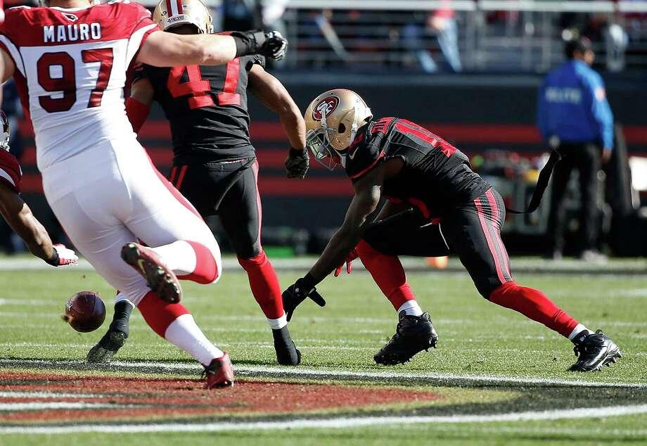 Ellington on thin ice as 49ers' kick returner ... maybe?