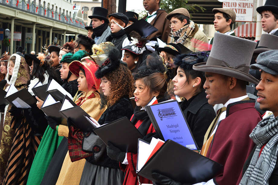 Choirs will perform at Dickens on the Strand Dec. 4-6. Photo: Galveston Historical Foundation