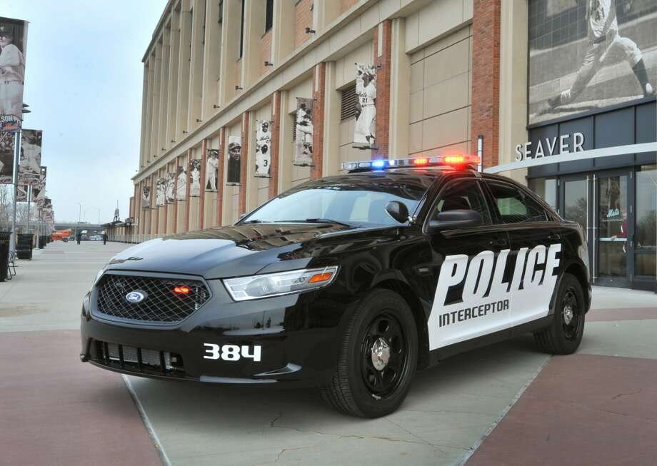 The Ford EcoBoost Police Interceptor sedan proved to be faster than the Dodge Charger and Chevrolet Caprice in their annual evaluations. Photo: Ford Motor Co