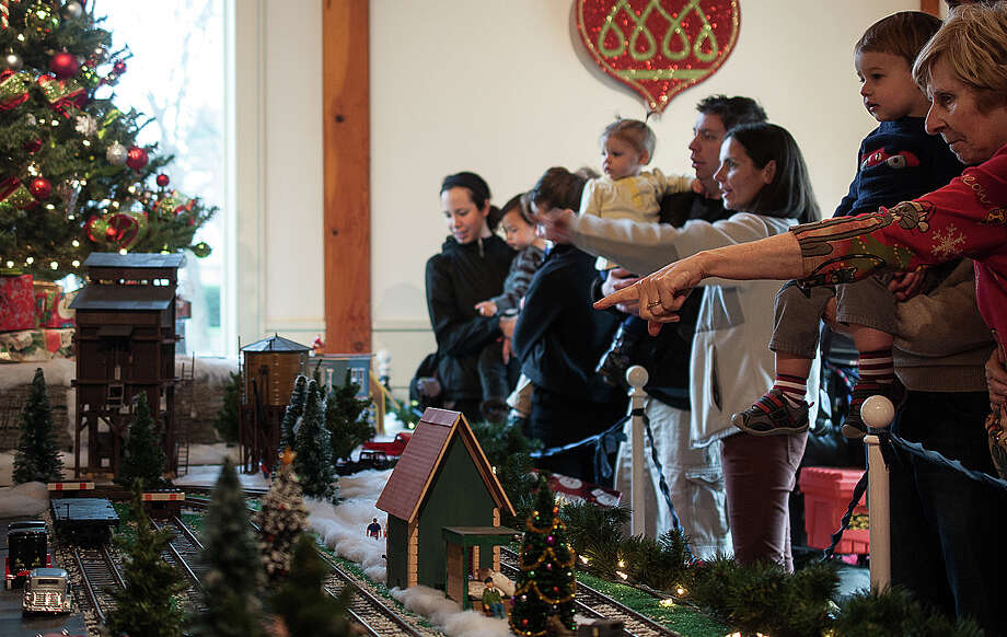 The Holiday Express Train Show opens Friday and runs through Jan. 3 at the Fairfield Museum and History Center. Photo: Contributed Photo / Fairfield Citizen