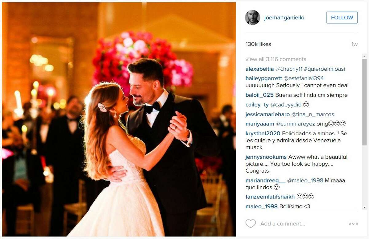 Actor Joe Manganiello shared these photos from his wedding/honeymoon to Sofia Vergara on Instagram.