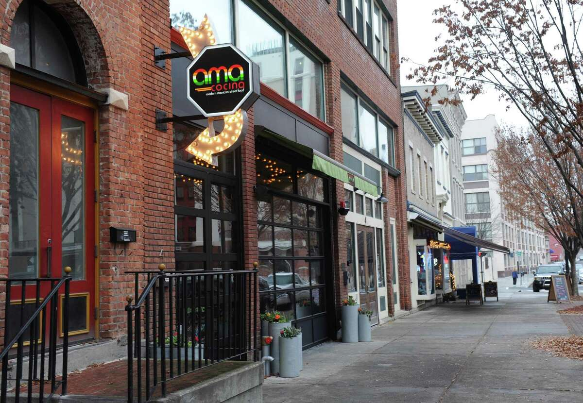 """Ama Cocina, Albany: """"Socially distanced parking lot pickup party,"""" noon to 8 p.m. in lot across from restaurant at 4 Sheridan Ave.Taco kitfor four, sides, margaritas. 518-776-4550."""