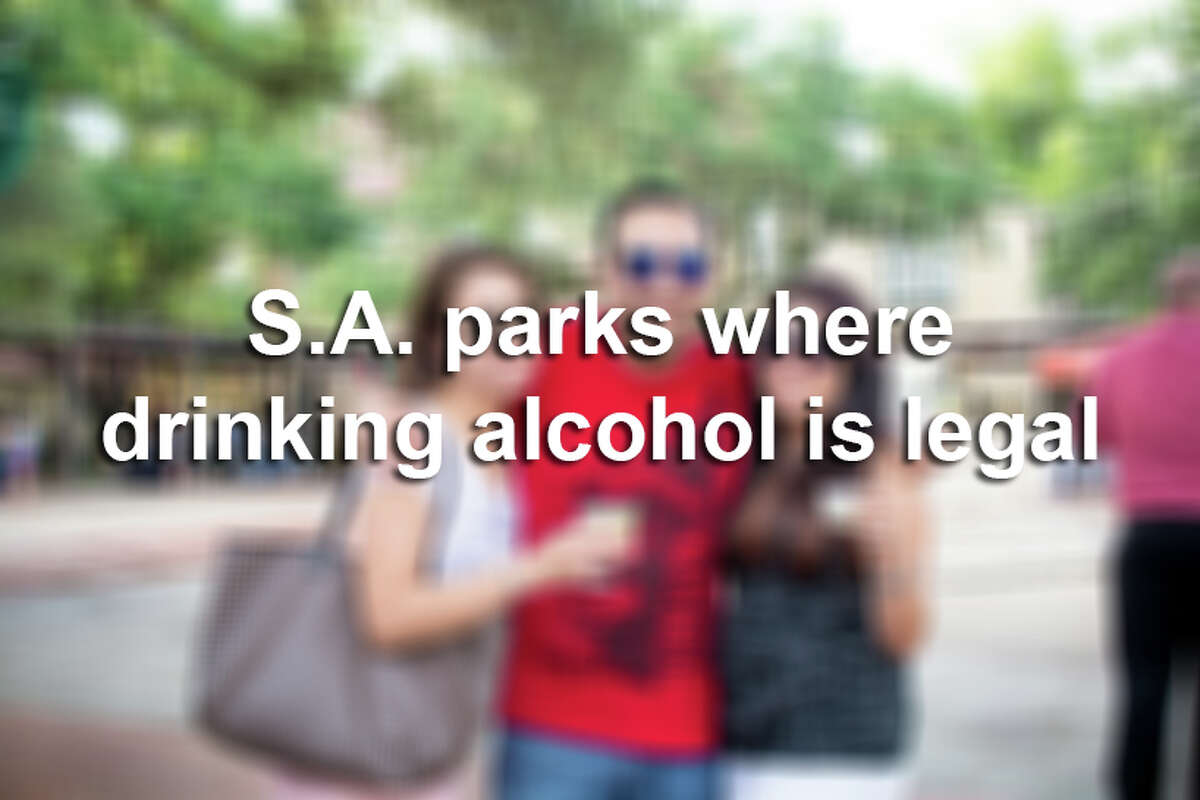 The list of San Antonio parks where drinking is allowed just got shorter after an amendment to a city ordinance on Dec. 3, 2015.