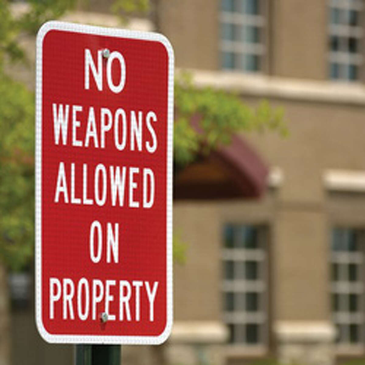 Some rules Under the new law, universities were allowed to ban guns from some areas of campus, but not all. A few, such as the University of Houston, took steps to restrict where guns could be brought on campus.