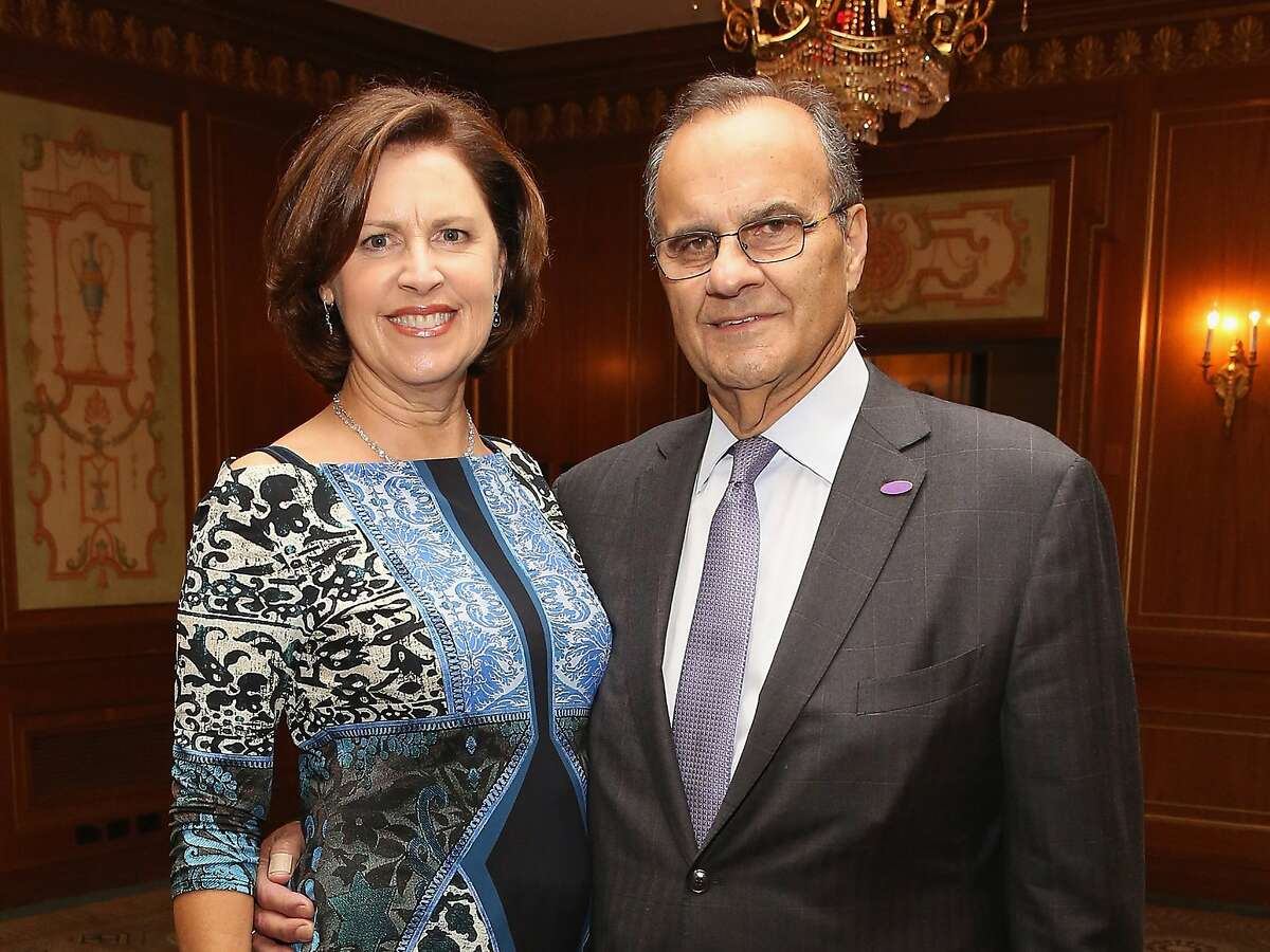 NEW YORK, NY - DECEMBER 02: Ali Torre (L) and Joe Torre attend the Prostate Cancer Foundation Invites You To The 2015 New York Dinner With Celebrity Hosts Whoopi Goldberg & John O'Hurley At The Pierre Hotel at The Pierre Hotel on December 2, 2015 in New York City. (Photo by Robin Marchant/Getty Images for Prostate Cancer Foundation)