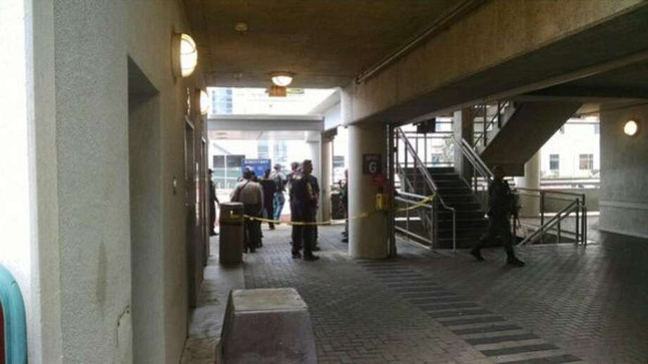 Santa Clara County Sheriff's deputies were searching Valley Medical Center in San Jose Thursday afternoon after security guards there received a report of man armed with a gun near the or inside the facility. Photo: John Solis