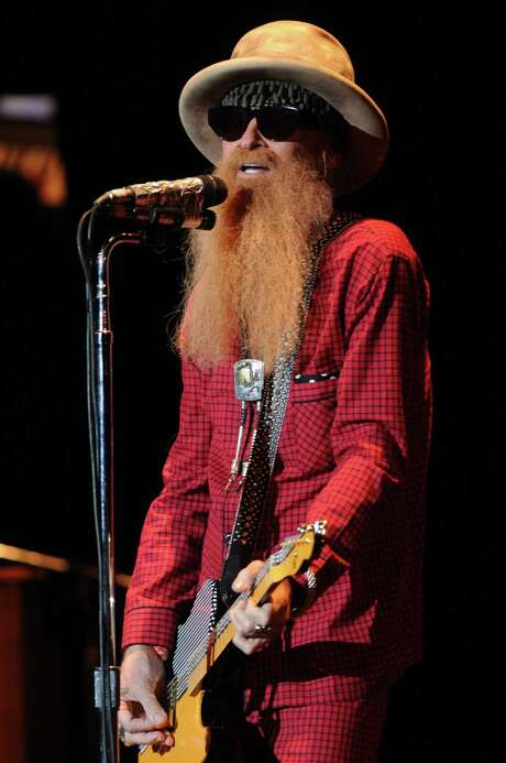 Billy Gibbons and his backup band, the BFG's, perform at UH on Dec. 3. Photo: Dave Rossman, For The Chronicle / Freelalnce