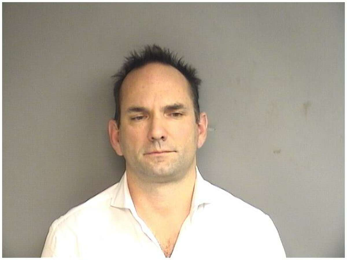 Louis Coustantineau, 43, of Stamford was arrested on domestic violence charges after his girlfriend asked a downtown bartender to help her.