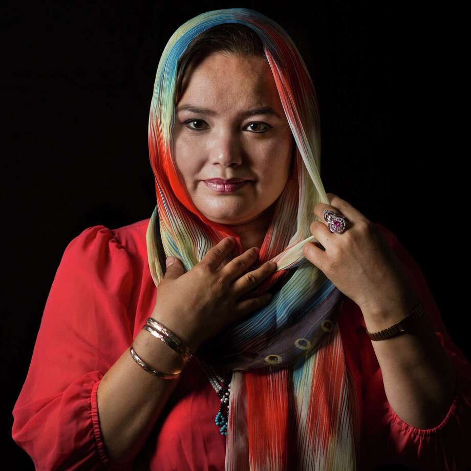 Khatera Khorushan, 38, a refugee from Afghanistan made sure to bring her diplomas and degrees when she moved to the United States. Saturday, Sept. 12, 2015, in Houston. Photo: Marie D. De Jesus, Houston Chronicle / © 2015 Houston Chronicle
