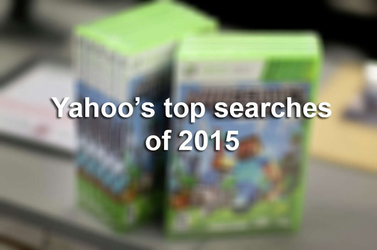 Click through the slideshow to see the Top 10 most searched terms on Yahoo.com in 2015.