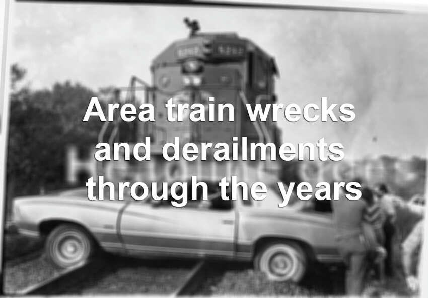 San Antonio train wrecks and derailments through the years.