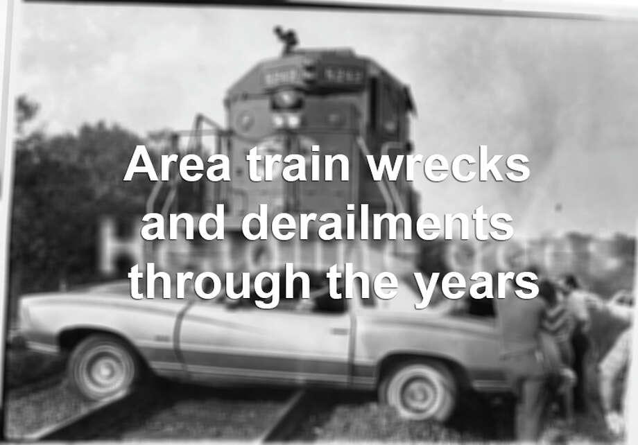San Antonio train wrecks and derailments through the years. Photo: File