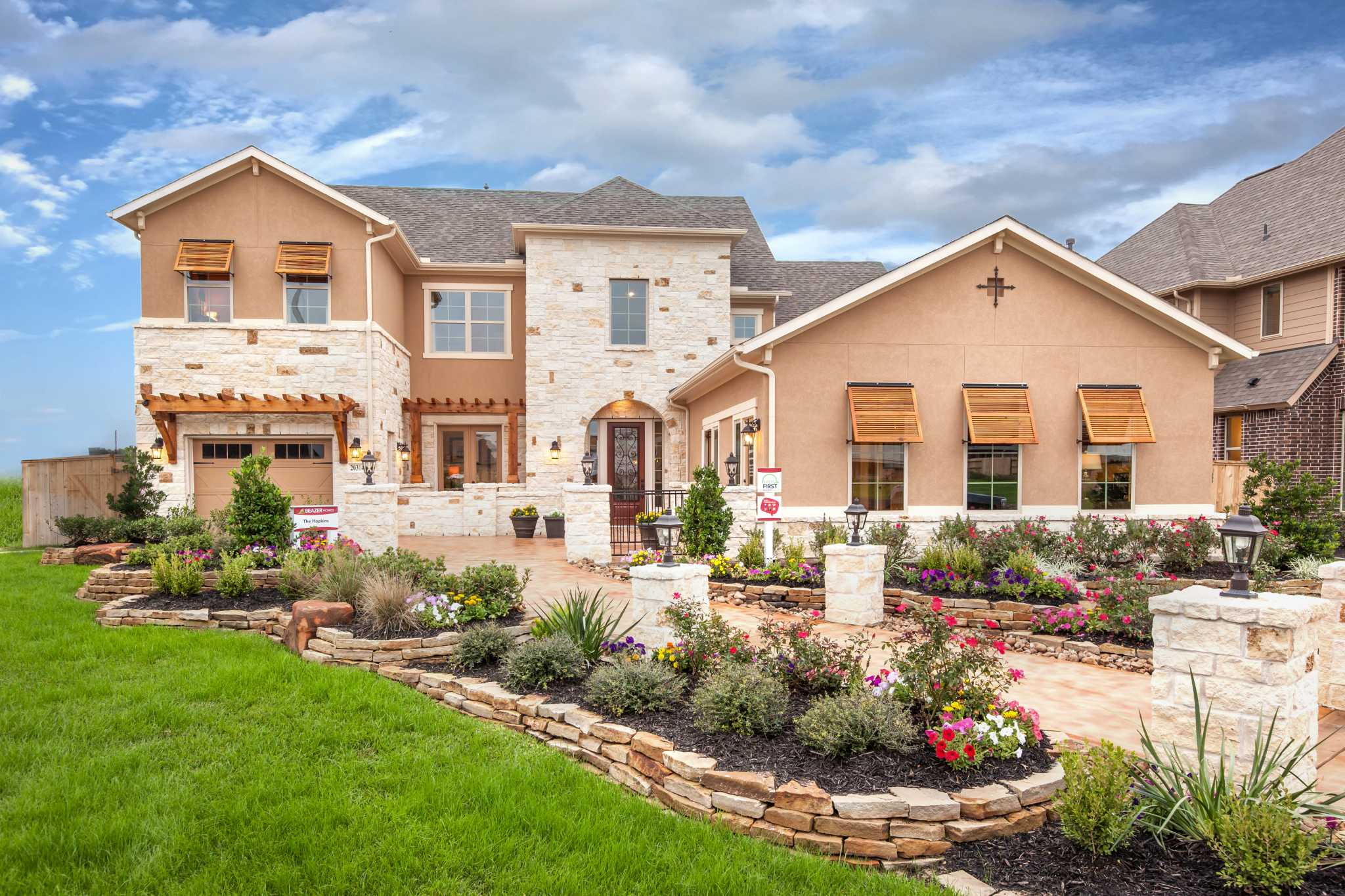 Beazer homes spotlights new homes within cypress for Cypress house