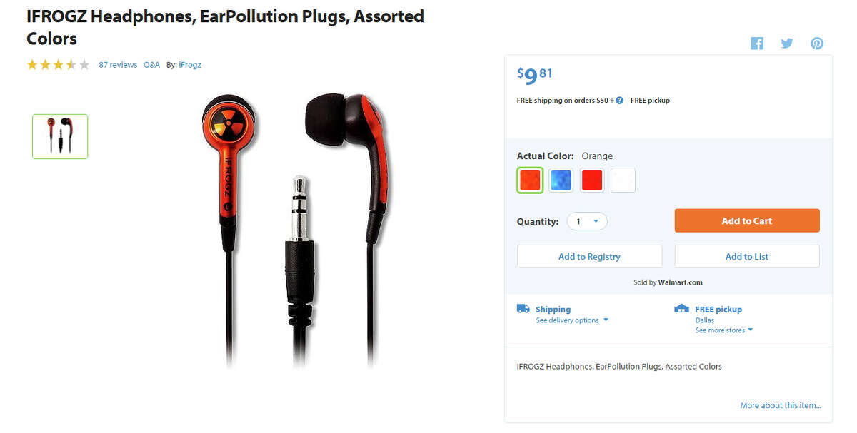 For the adults: Product: Headphones Found:Walmart