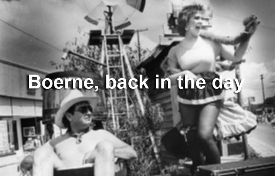 Take a look back at Boerne's wild days, from the 1930s to the 1980s. Photo: San Antonio Express-News