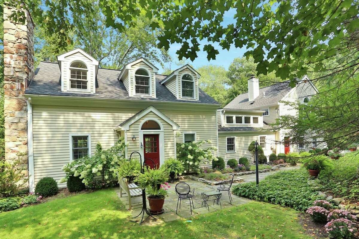 This home, located at 85 Lower Cross Road in Greenwich, is for sale for $1.6 million and is conisdered a backcountry escape from busy city life.
