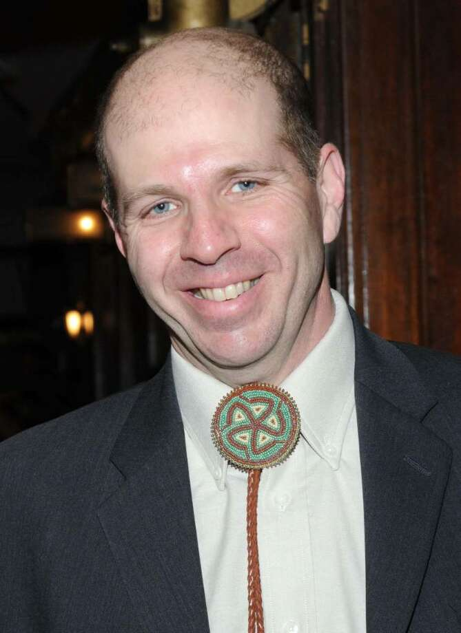 Tom Carruthers is the Founder and Executive Director of the Connecticut Film Festival. Photo: Lisa Weir / The News-Times