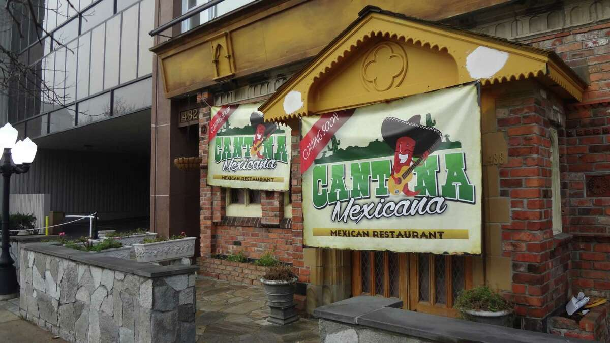 Cantina Mexicana, opening on Summer Street at the site of the Castle Bar & Grill, is one of several new eateries in the works within a few blocks of each other in downtown Stamford.