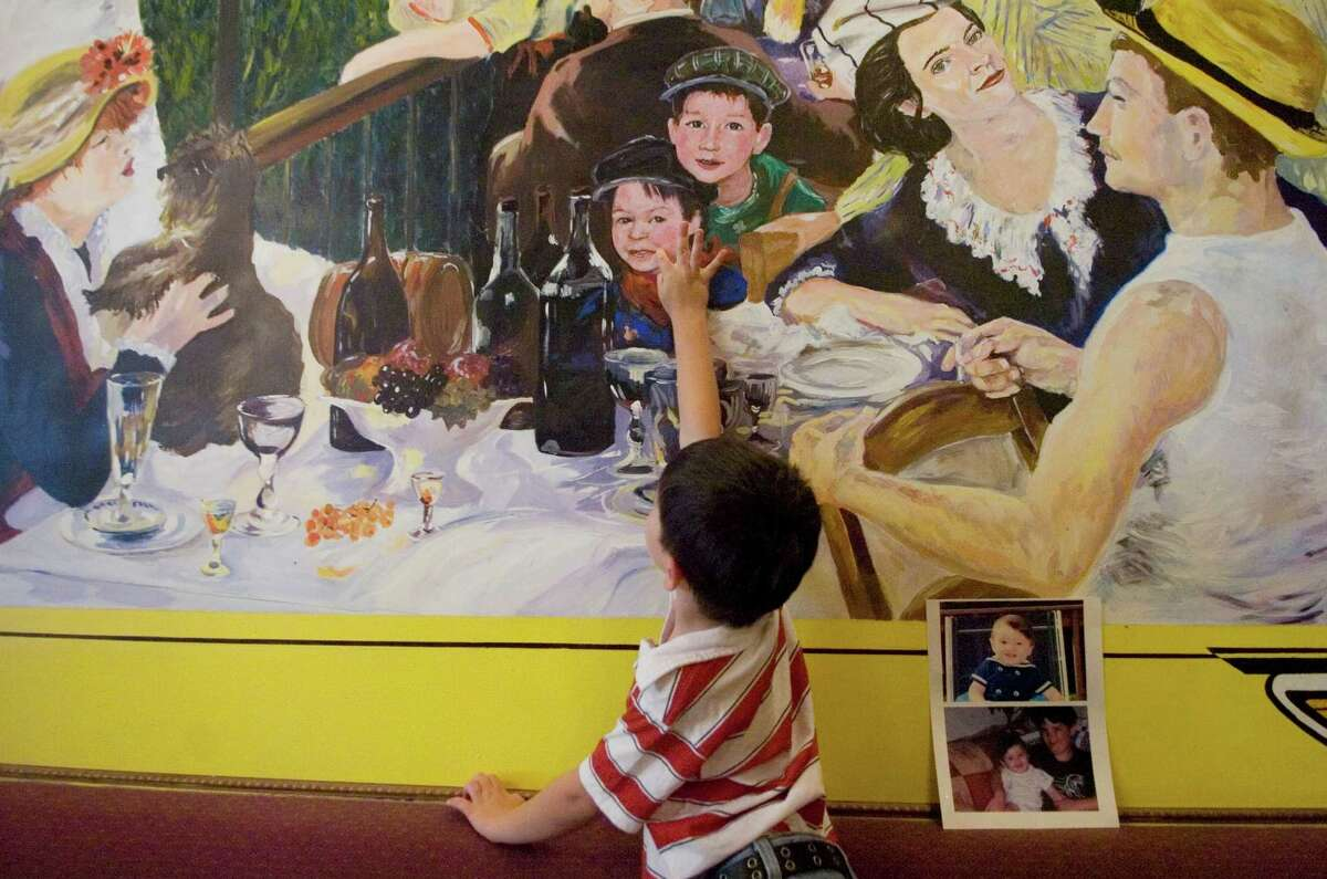 The former Chez Jean Pierre restaurant on Bedford Street in Stamford, Conn. featured an impressionist mural of the family of Jean-Pierre and Maria Bars. A new French bistro is opening at the site under the direction of Alain Bars, the brother of Jean-Pierre, one of several new eateries to debut soon in downtown Stamford.
