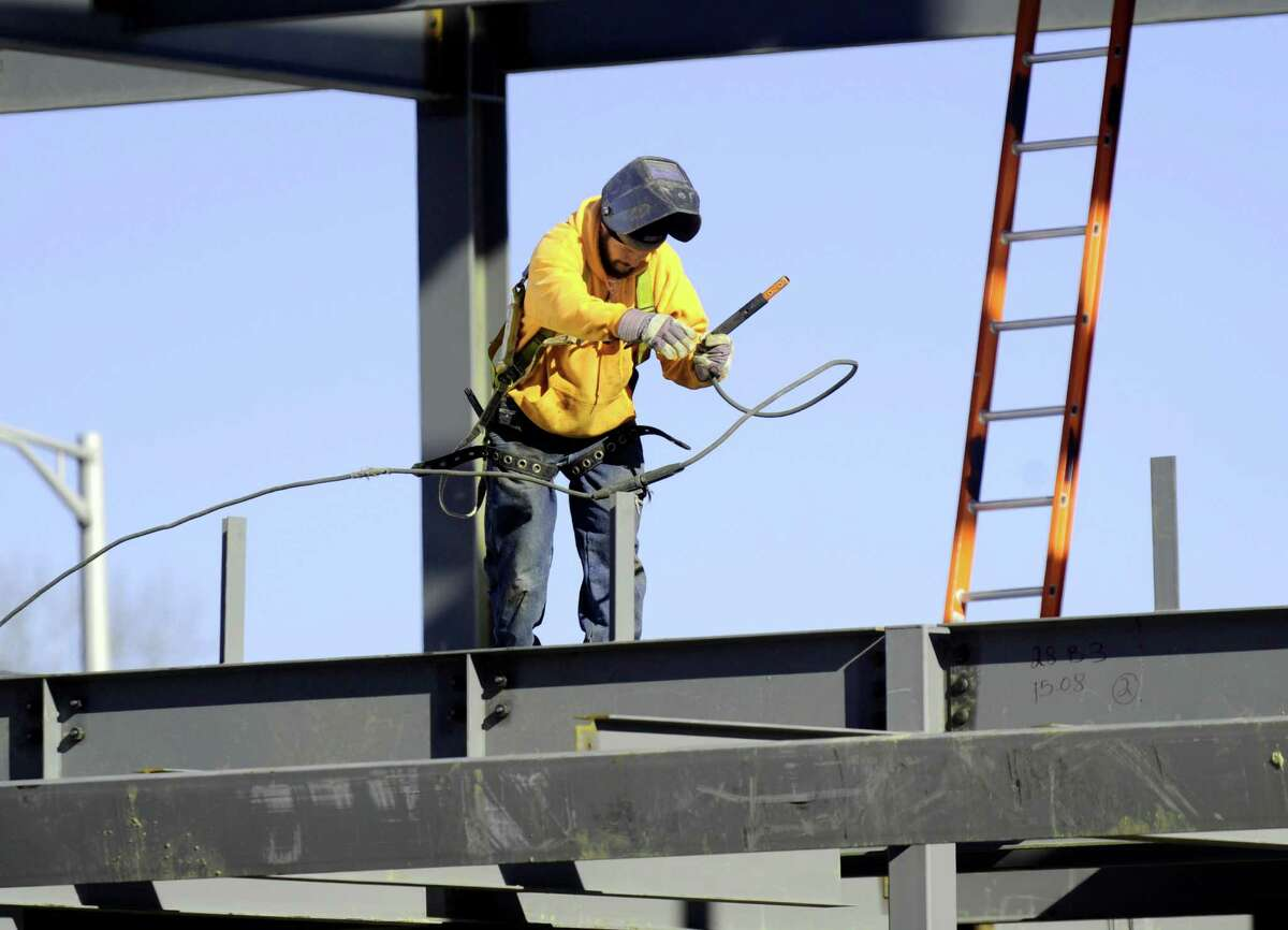 Construction led U.S. jobs gains in November, according to a Bureau of Labor Statistics report Friday, December 4, 2015.