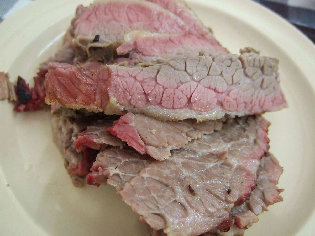 Lean brisket with fat cap removed.