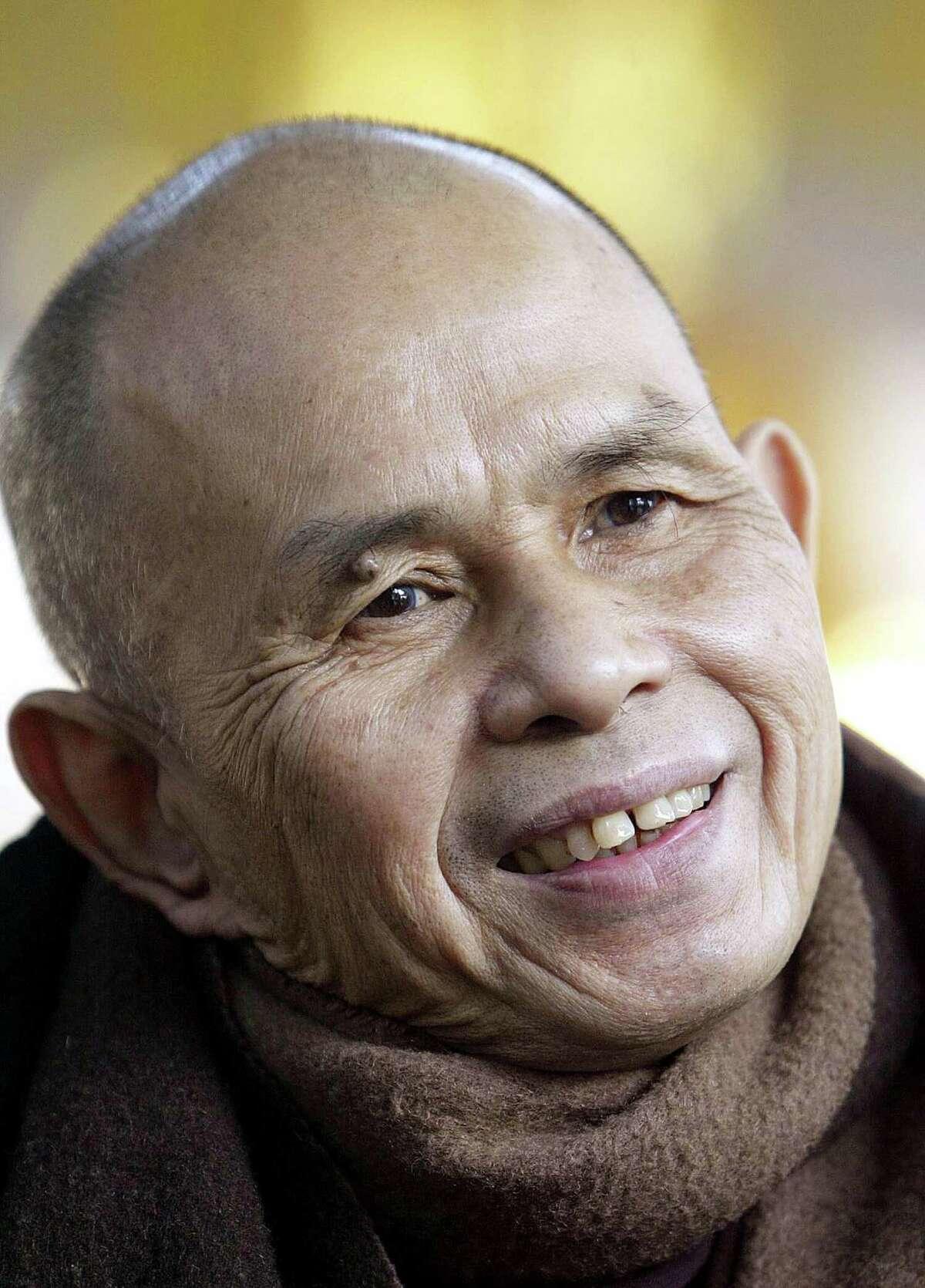 Buddhist monk Thích Nhat Hanh