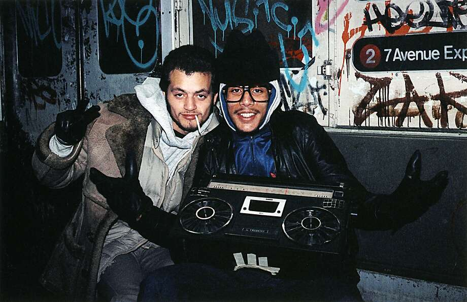 Back in the 1980's you couldn't get any cooler than having a boombox. You carried it with you everywhere and dared people to listen to your personal selection of music when you turned the volume to 10.  Photo: Jamel Shabazz