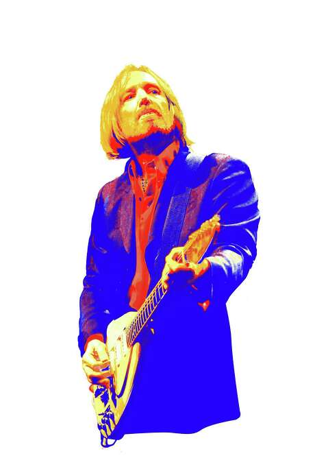 Tom Petty Robert Wuensche illustration/Houston Chronicle   Nathan Lindstrom photo Photo: RAW / Freelance
