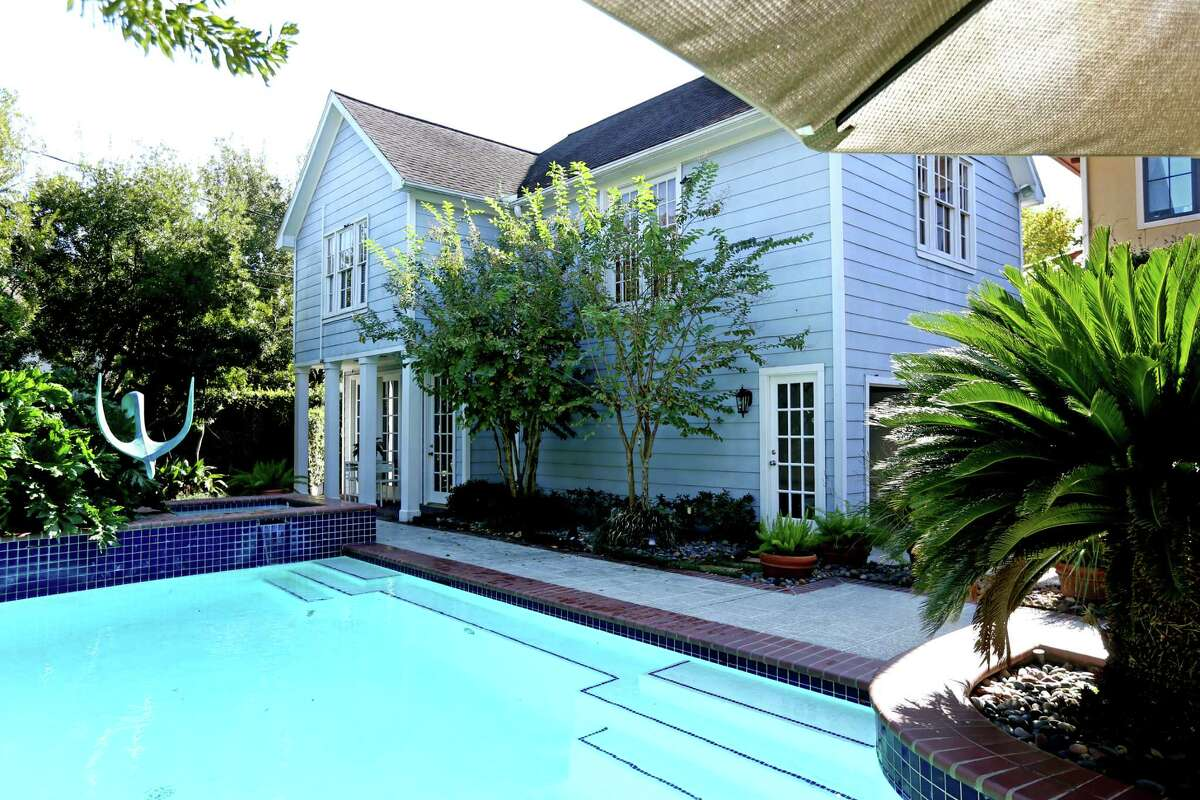 Who needs grass? A fence-to-fence swimming pool is even better than a yard for families who love to swim. Just make sure you save a little bit of room for a deck so you can sun yourself as well.