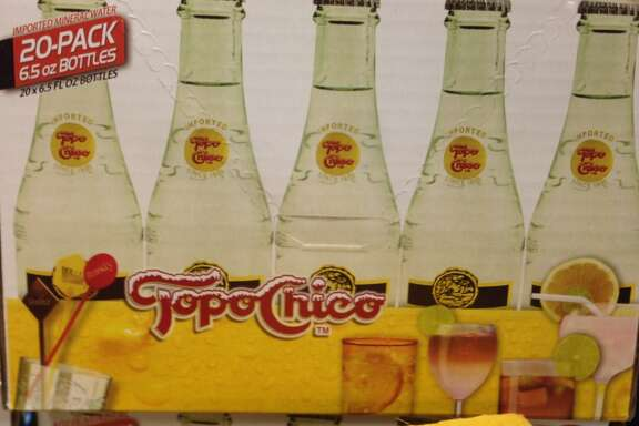 For lovers of mineral water with a kick, you go no further than Topo Chico.