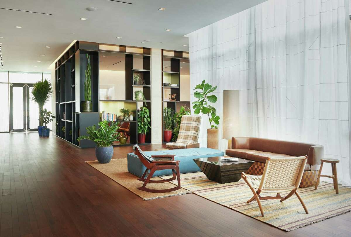 Austin's 83-room South Congress Hotel has a midcentury modern vibe.