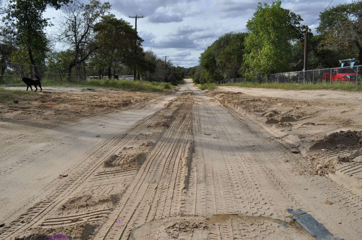 Residents of the Highland Oaks subdivision in southern Bexar County are hoping that Commissioner Chico Rodriguez's road-funding plan will work. But they would be wise not to raise their expectations too high.