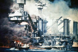 Japanese attack on the US Naval base at Pearl Harbour; 7th December 1941