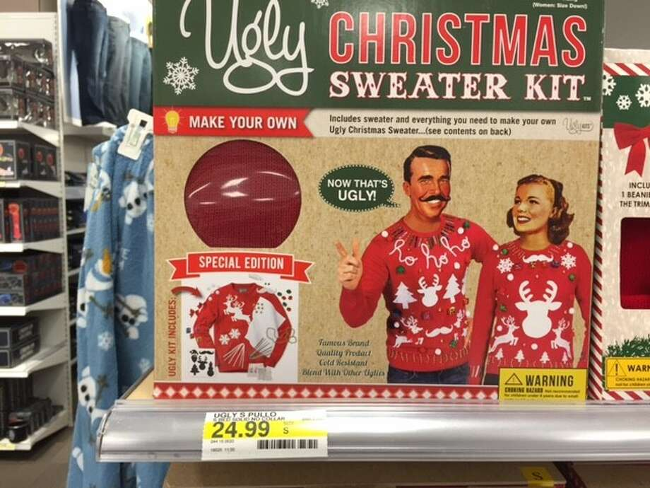 Ugly Christmas sweater kits: turning satire into practical joke