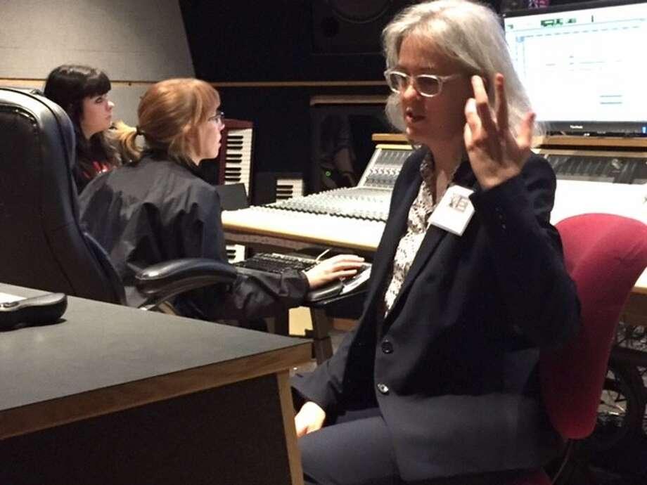 Terri Winston talks about the work of Women's Audio Mission.