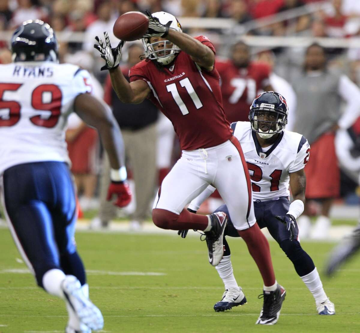 Arizona: Larry Fitzgerald, WR | 2004 first round (third overall) He's been the face of the franchise since he was drafted, helped the team reach a Super Bowl and has provided leadership while the team has emerged into one of the NFL's best.