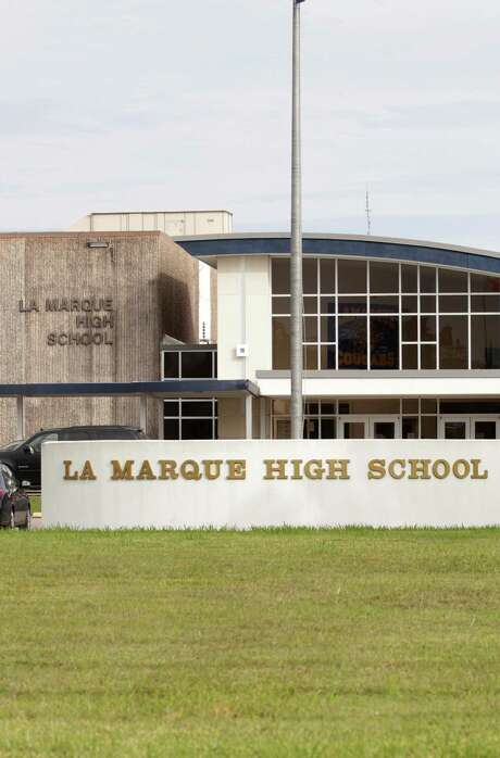 Students leave La Marque High School in the afternoon, Friday, Nov. 13, 2015, in La Marque. The school district will be shut down at the end of the school year. ( Jon Shapley / Houston Chronicle ) Photo: Jon Shapley, Staff / © 2015 Houston Chronicle