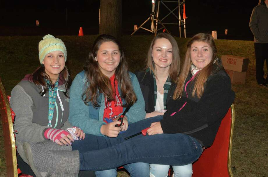 Were you SEEN at the 31st annual Christmas tree lighting at Ram Pasture in Newtown on December 4? Photo: Vic Eng  / Hearst Connecticut Media Group